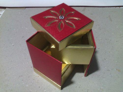 SHAHI LADDU FOLDING BOX FOR TWO LADDUS