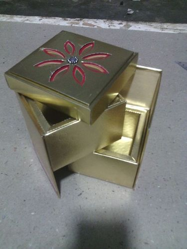 SHAHI LADDU FOLDING BOX FOR TWO LADDUS