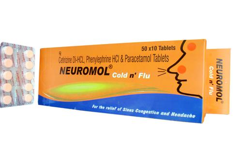 Neuromol Cold N Flu Nasal Spray