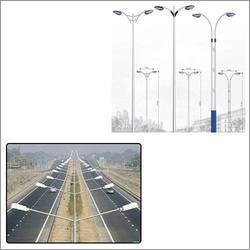 Mild Steel Tubular Poles