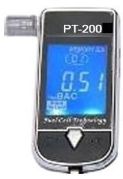 PT200 Breath Analyser Memory