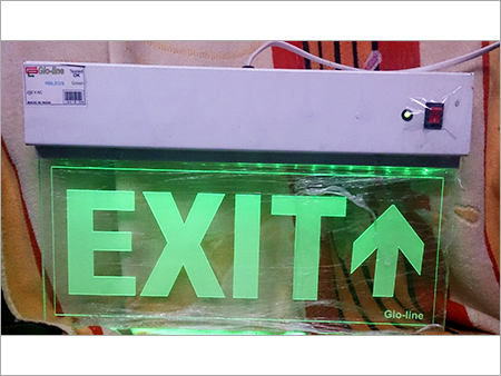 Charming LED Exit Sign
