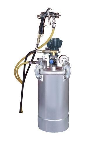 Pressure Feed Container with Stirrer and Gun 10 lt