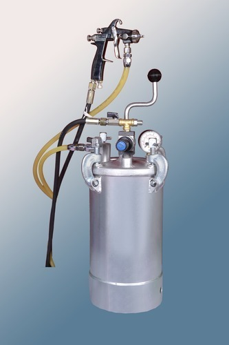 Pressure Feed Tank 10 Liter with Manual Stirrer
