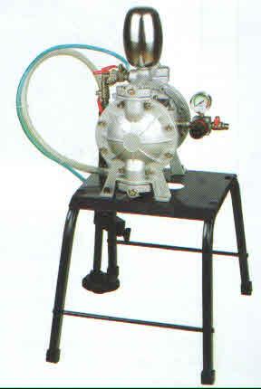 Pneumatic Double Diaphragm Pumps