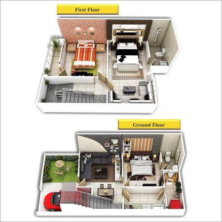 Duplex 3D View