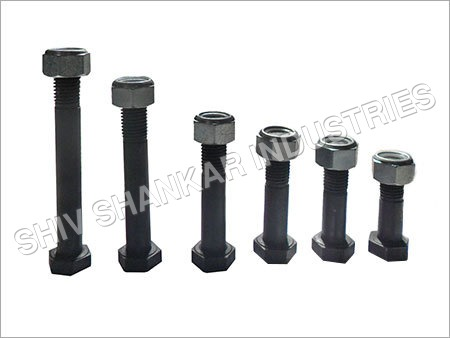 Tractor Half Thread Bolt