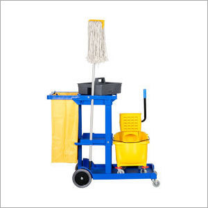 Cleaning Janitorial Carts