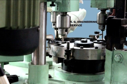 Aluminium Rotary Indexing Machine