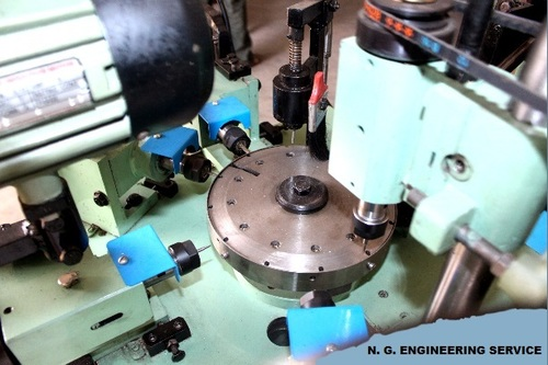 Multiple Parts Slotting Machine