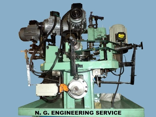 Brass Parts Power Threading Machine