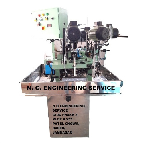 Metal Rotary Table Threading Machine