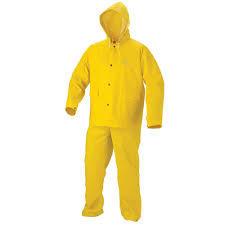 Pvc Nylon Rain Suit