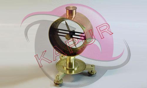 Dip Circle Brass