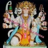marble panchmukhi bajrangi hanuman