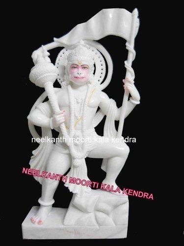 Decorative Hanuman Marble Statue