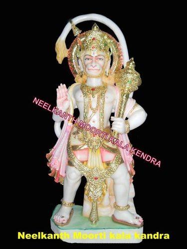 Goddess Marble Hanuman Statue