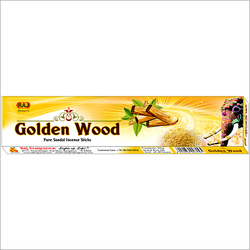 Golden Wood Incense Sticks