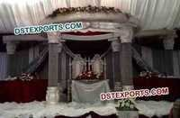 New Model Wedding Crystal Mandap