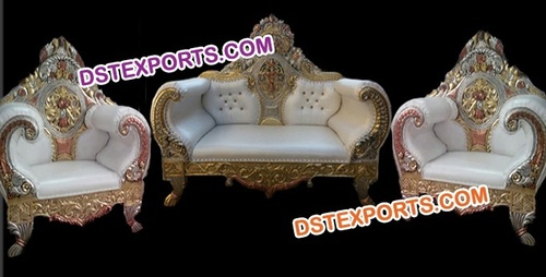 WEDDING MAHARAJA SOFA SET