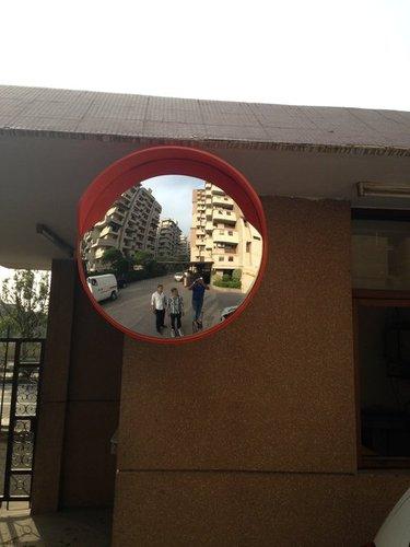 Road Safety Convex Mirror