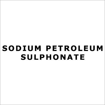 Sodium Petroleum Sulphonate