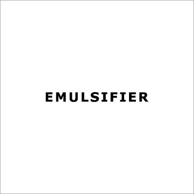 Industrial Emulsifier