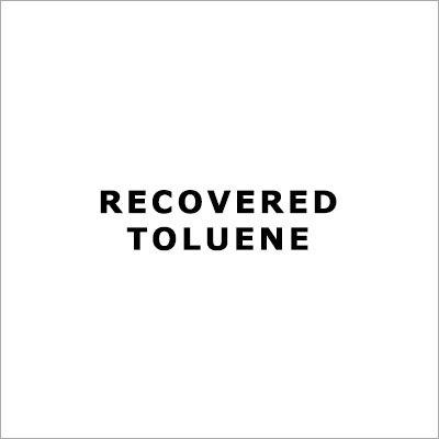 Recovered Toluene