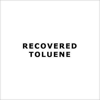 Recovered Toluene
