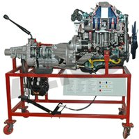 Car Engine Petrol  Handle Driven