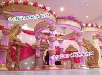 Royal Wedding Crystal Mandap