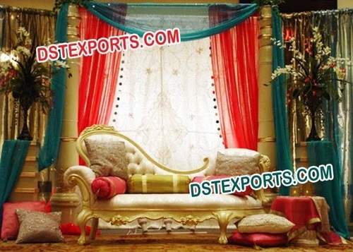 BEAUTIFUL MUSLIM WEDDING STAGE DECORS