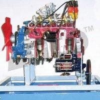 Car Engine Petrol Motor Driven