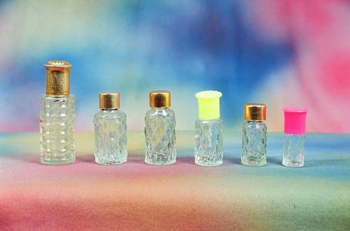 Diamond Glass Bottles