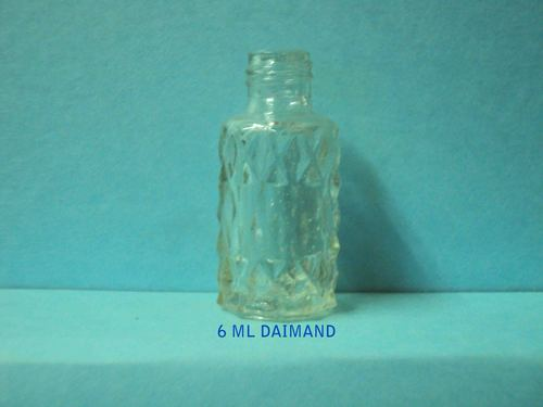 daimond glass bottle