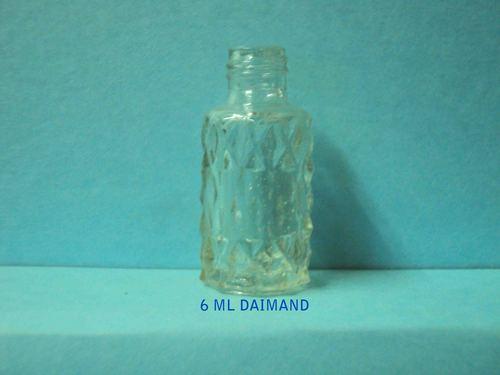 daimond glass bottle