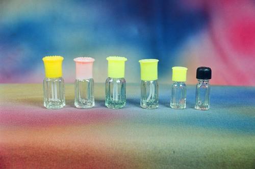 Octagonal Glass Bottle