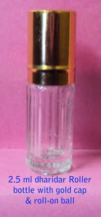 Transparent Attar Bottle