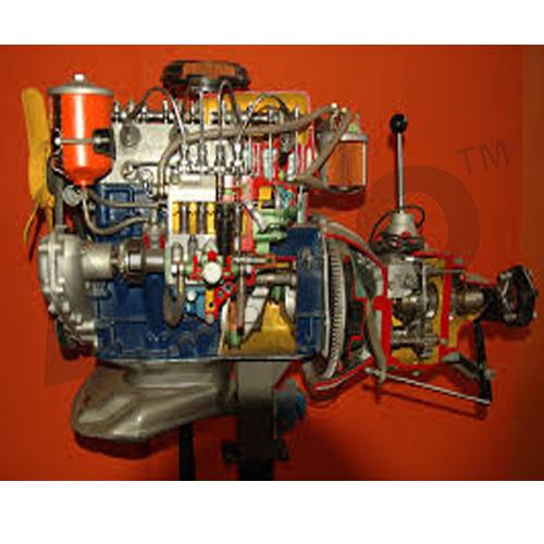 Car Engine Diesel Motor Driven