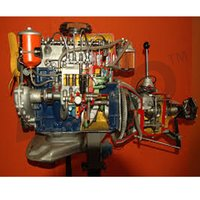 Car Engine Diesel Motor Driven