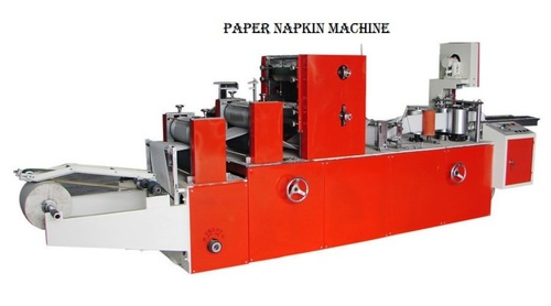 NEW BRAND RXZ 1210 PAPER NAPKIN MAKING MACHINE URGENT SELLING WITH BEST OFFER