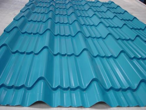 Coloured Coating Tile Roofing Sheets  in punjab