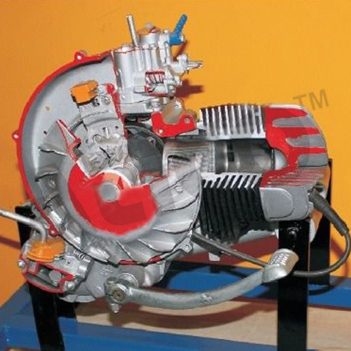 2 Stroke 1 Cylinder Scooter Engine - ADVANCED TECHNOCRACY