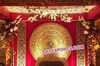 Wedding Stage Round Backdrop Panels