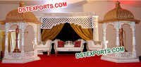 JODHA AKBER WEDDING STAGE DECORS