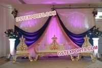 INDIAN WEDDING MAHARAJA SOFA SET
