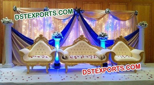Beautiful Wedding Furniture Sofa Set