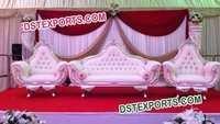 Indian Wedding Elegent Furniture Set