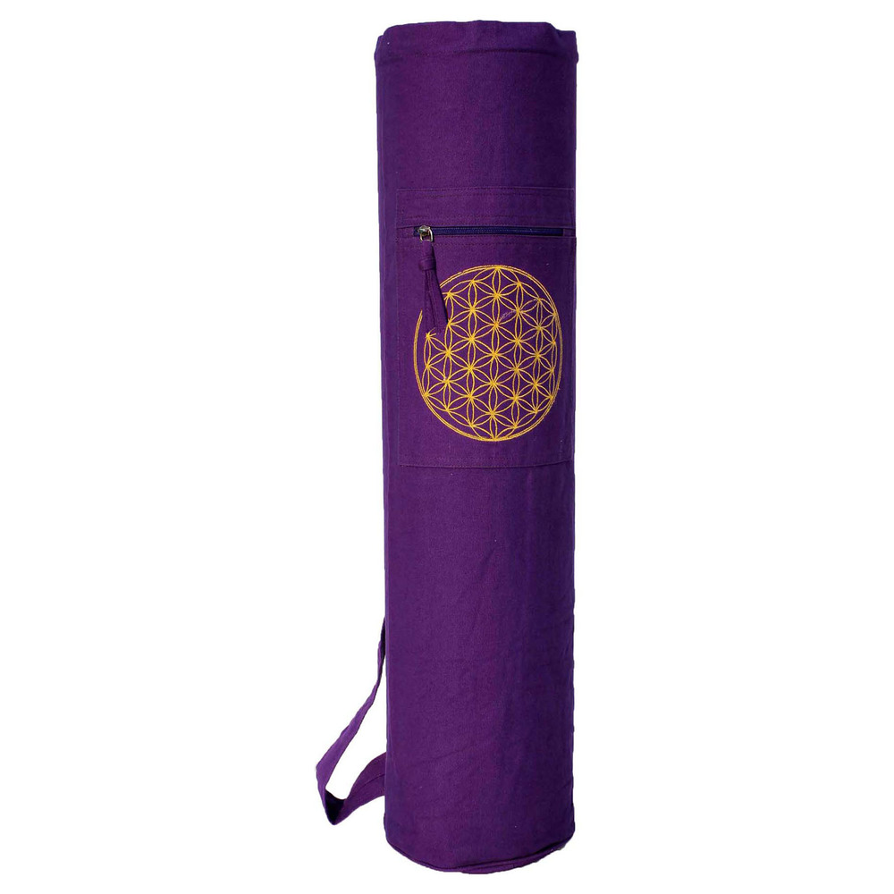 YMB038 Mat Bag (drawstring) Flower of life