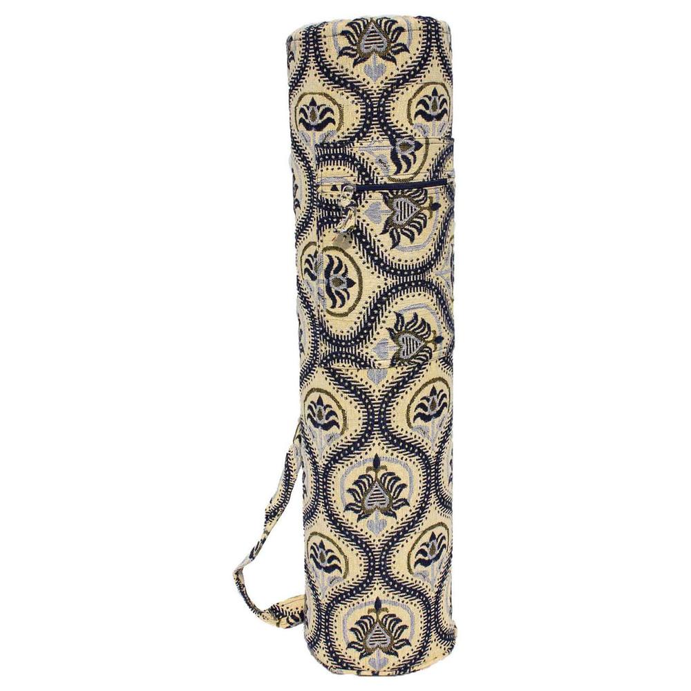 Jacquard Mat Bags- Zippered